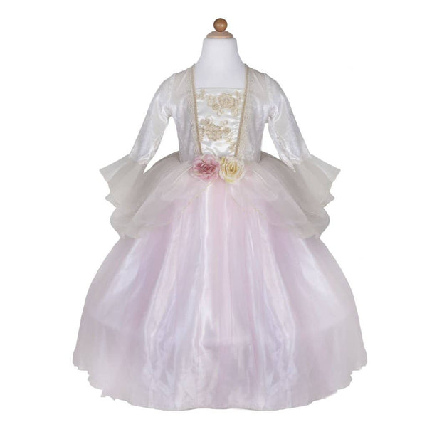 Gold Rose Princess Dress (Size 5-6)