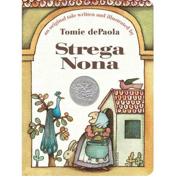 Strega Nona (Board Book)-Kidding Around NYC