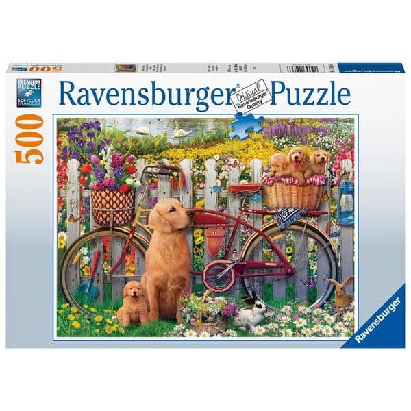 Ravensburger 15036: Cute Dogs (500 Piece Jigsaw Puzzle)-Kidding Around NYC