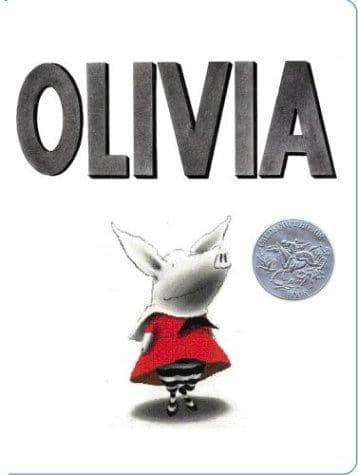 Olivia (Board Book)-Kidding Around NYC