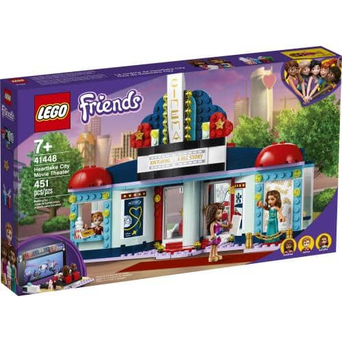 LEGO 41448: Friends: Heartlake City Movie Theater (451 Pieces)