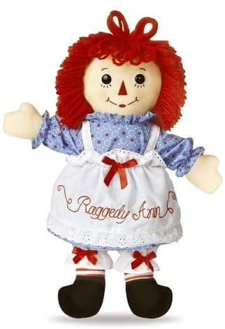 "Raggedy Ann Classic 16""-Kidding Around NYC"