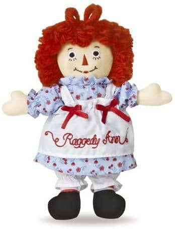 "Raggedy Ann Classic 8""-Kidding Around NYC"