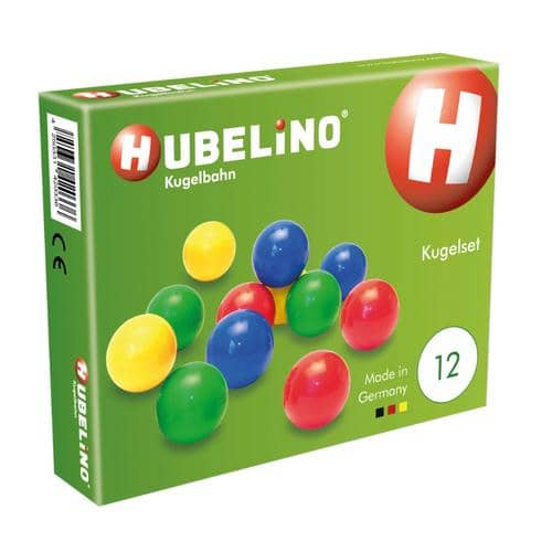Hubelino: Set Of 12 Marbles-Kidding Around NYC