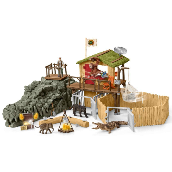 Schleich Crocodile Research Center