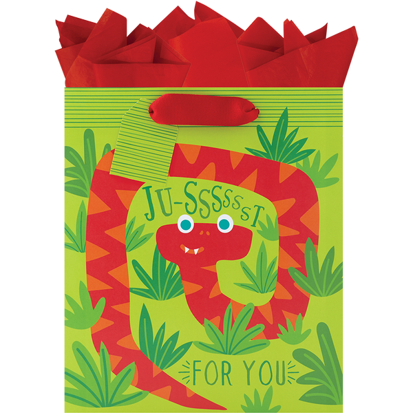Silly Snakes Medium Gift Bag