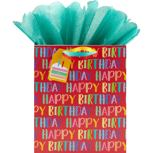 Birthday Fill Medium Gift Bag