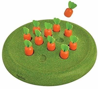 PlanToys 4621 Solitaire Carrots Game
