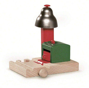 Brio World - 33754 Magnetic Bell Signal | Accessory For Toy Train Sets For Kids Ages 3 And Up-Kidding Around NYC