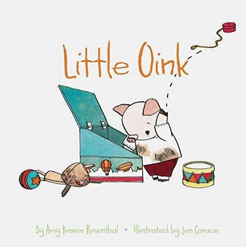 Little Oink (Board Book)-Kidding Around NYC