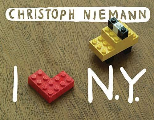 I Lego N.Y. (Board Book)-Kidding Around NYC