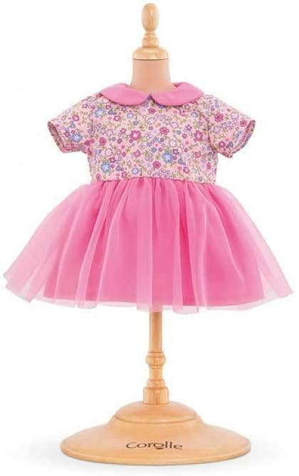 "14""-Mon Premier Poupon Sweet Dreams Dress Pink-Kidding Around NYC"