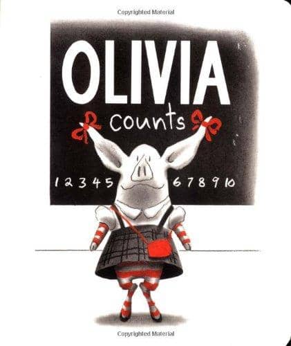 Olivia Counts (Board Book)-Kidding Around NYC