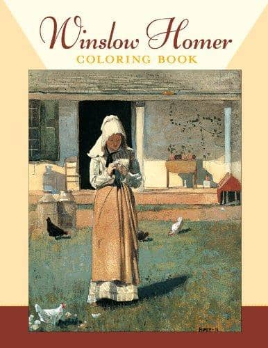 Winslow Homer Coloring Book-Kidding Around NYC
