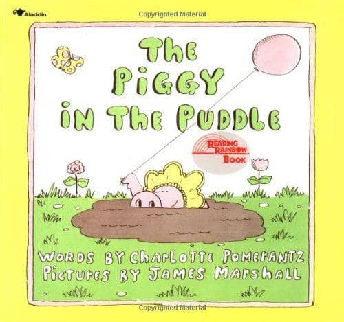 The Piggy In The Puddle ( Board Book)-Kidding Around NYC