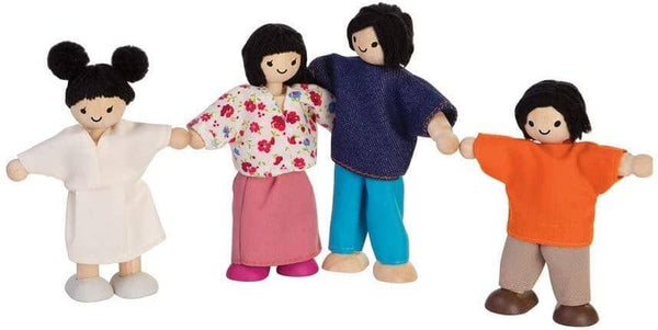 Plantoys Doll Family (Asian)-Kidding Around NYC
