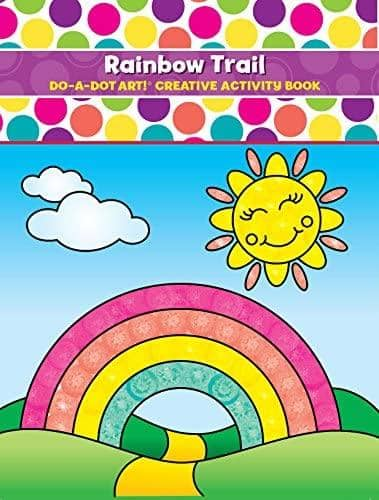 Do A Dot Art:Rainbow Trail Coloring Book-Kidding Around NYC