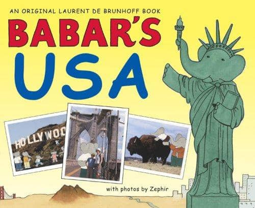 Babar's Usa (Hardcover)-Kidding Around NYC