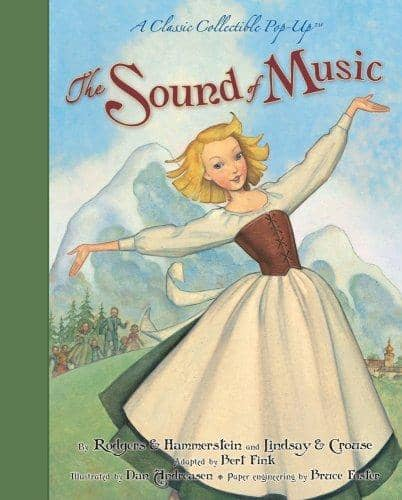 Sound Of Music Pop-Up Book-Kidding Around NYC