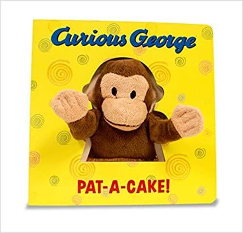 Curious George Pat-A-Cake (Board Book)-Kidding Around NYC