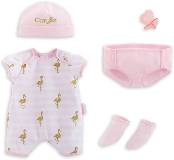 "14""-Layette Set Corolle Mon Grand Poupon-Kidding Around NYC"