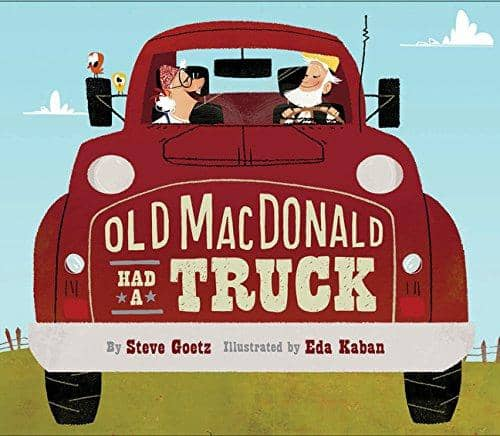Old Mcdonald Had A Truck (Hardcover)-Kidding Around NYC