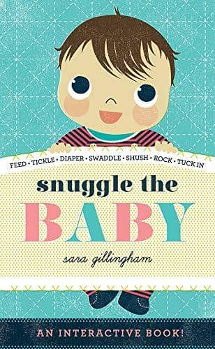 Snuggle The Baby (Board Book)-Kidding Around NYC