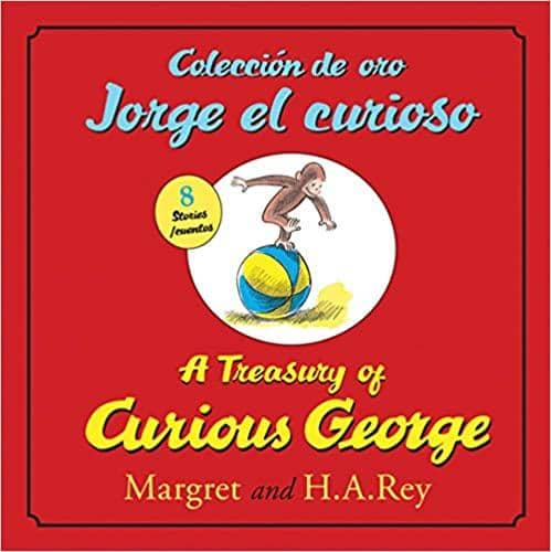 A Treasury Of Curious George Bi-Lingual