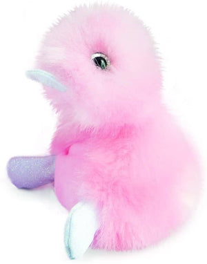 Doudou Et Compagnie Stuffed Animal Plush Duck Pink Bulle De Coco 7.1 Inches-Kidding Around NYC