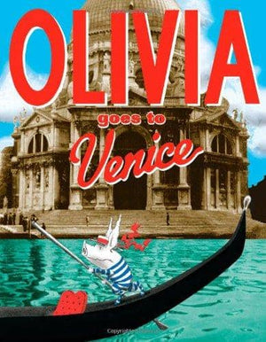 Olivia Goes To Venice (Hardcover)-Kidding Around NYC