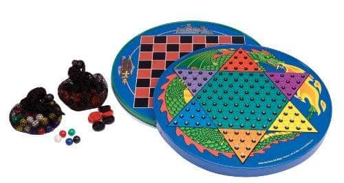Tin Chinese Checkers-Kidding Around NYC