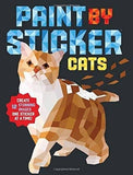 Cats Paint By Sticker Book (Paperback)