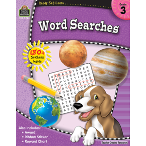 Ready-Set-Learn: Word Searches Grade 3-Kidding Around NYC