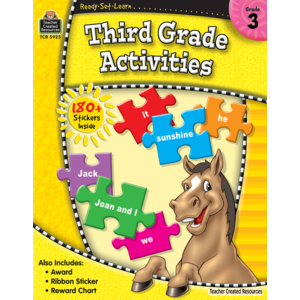 Ready-Set-Learn: Third Grade Activities