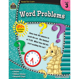 Ready-Set-Learn: Word Problems Grade 3-Kidding Around NYC