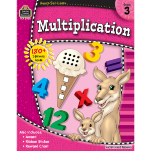 Ready-Set-Learn: Multiplication Grade 3-Kidding Around NYC