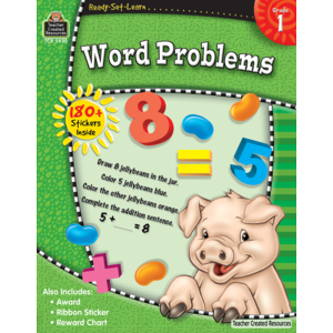 Ready-Set-Learn: Word Problems Grade 1-Kidding Around NYC