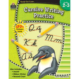 Ready-Set-Learn: Cursive Writing Practice Grades 2-3-Kidding Around NYC