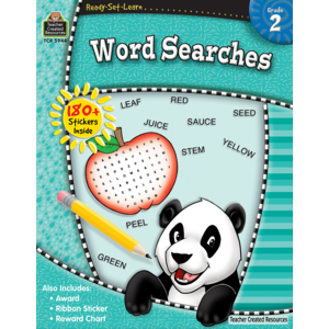 Ready-Set-Learn: Word Searches Grade 2-Kidding Around NYC