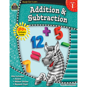 Ready-Set-Learn:  Addition And Subtraction Grade 1