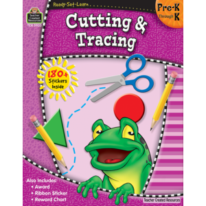 Ready-Set-Learn:  Cutting And Tracing Pre-K - Kindergarten