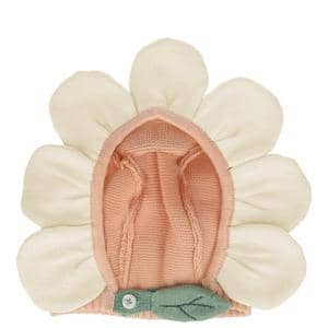 Peach Daisy Baby Bonnet-Kidding Around NYC