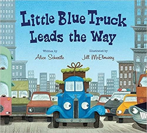 Little Blue Truck Leads The Way-Kidding Around NYC