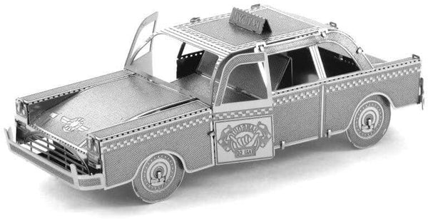 Checkered Cab 3D Laser Cut Model
