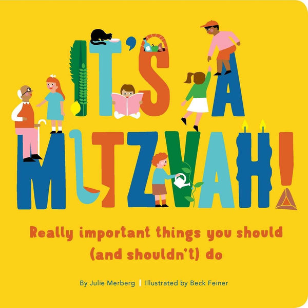 It's A Mitzvah! (Board Book)-Kidding Around NYC