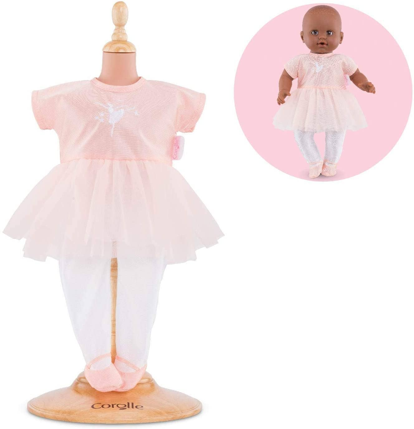 "14""-Ballerina Outfit Corolle Mon Grand Poupon Baby Doll-Kidding Around NYC"