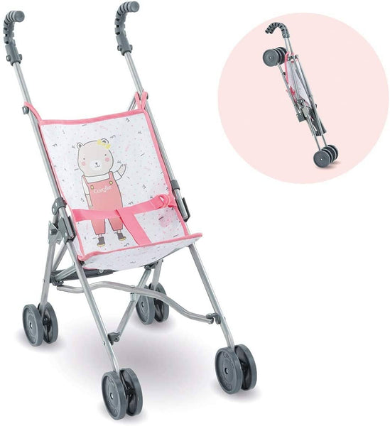 Pink Umbrella Stroller Corolle Mon Grand Poupon (14 & 17 Inch)
