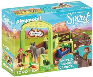 Spirit Riding Free: Snips & Senor Carrots (70120)-Kidding Around NYC