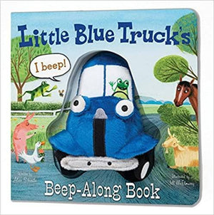Little Blue Truck Beep Along Book-Kidding Around NYC