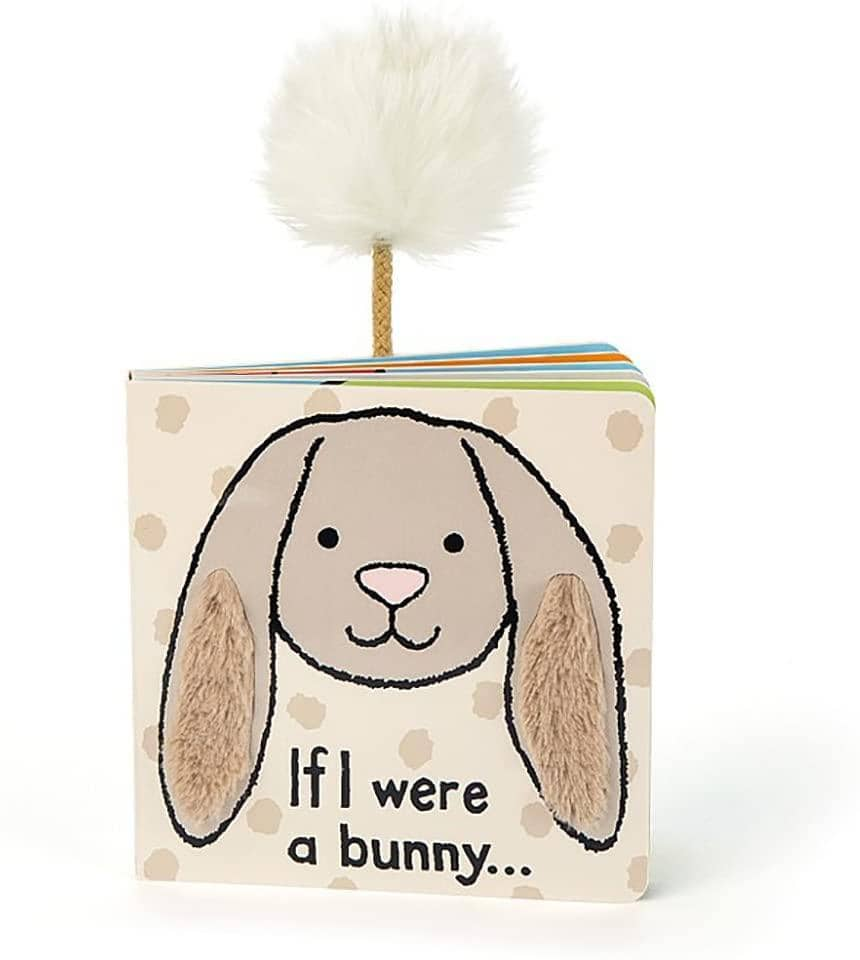 If I Were A Bunny Book (Beige)-Kidding Around NYC